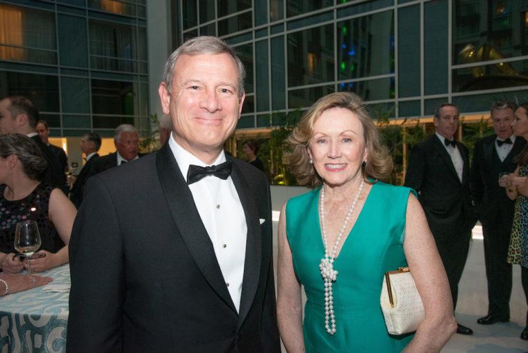 Chief Justice John Roberts And Jane Sullivan Roberts